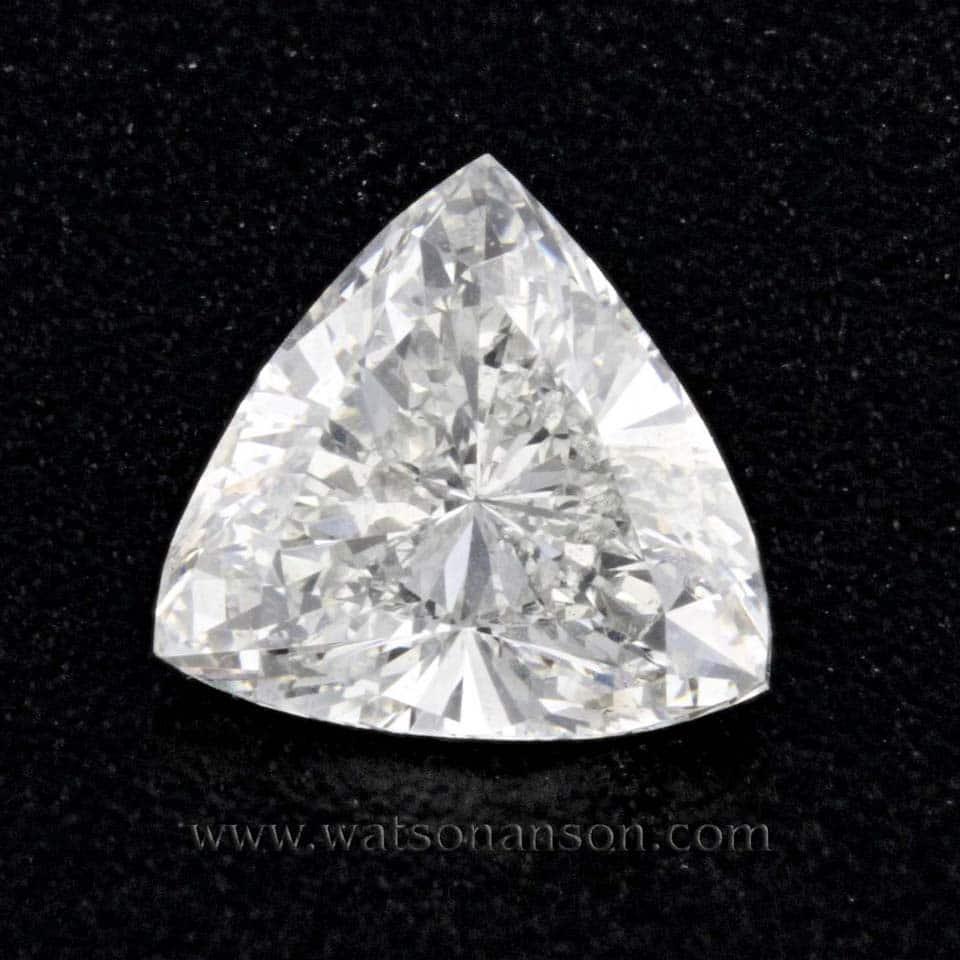 Trilliant Cut Diamond Watson Amp Son