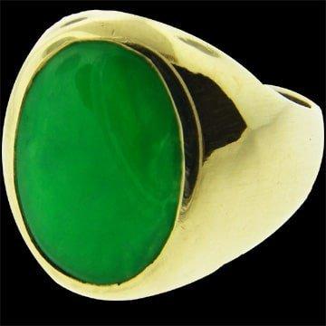 Mens Jadeite Ring 1