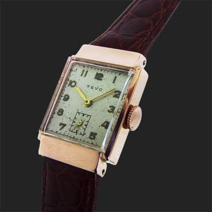 Pink Gold Tevo Watch 1