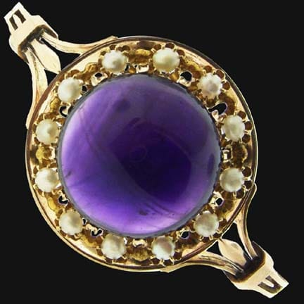 Victorian Amethyst bracelet 1