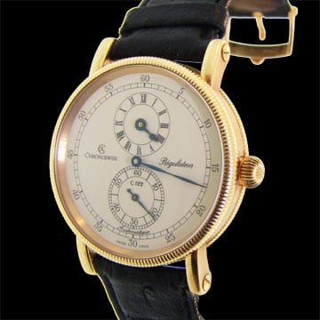 Chronoswiss; 18 Kt Pink Gold With Automatic Movement 1