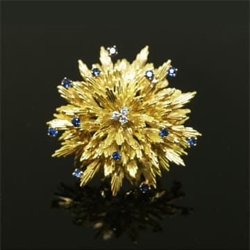 Tiffany Flower Brooch 1