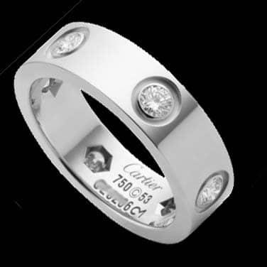 Cartier Love Wedding Ring 1