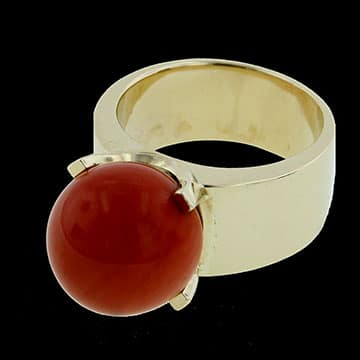 Gump'S Coral Ring 1