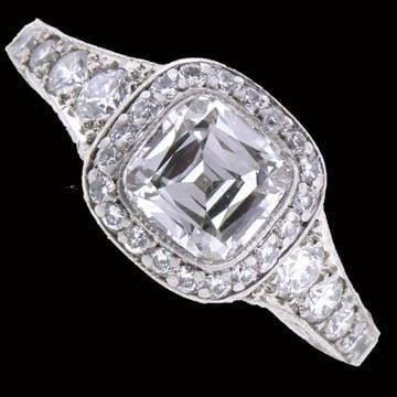 Tiffany Legacy Cushion-Cut Solitaire Ring 1
