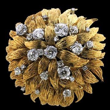David Web Diamond Brooch 1