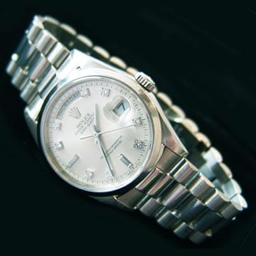 Platinum Rolex President 1