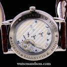 18 Kt White Gold Gentleman'S A. Lange &Amp; Sohne Strap Watch 206029 2