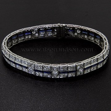 Delightful Diamond Deco Bracelet 1