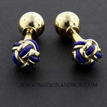 Lapis Lazuli Knot Cuff Inks 1
