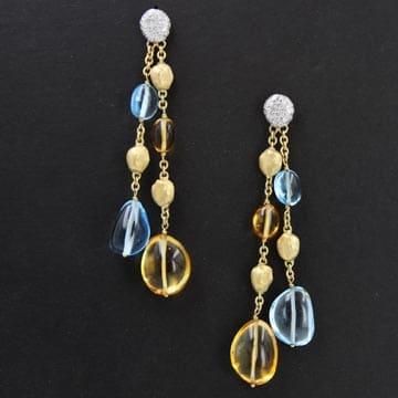 Marco Bicego Confetti Style Drop Earrings 1