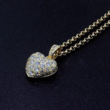 Cartier Pave Diamond Puffed Heart 1