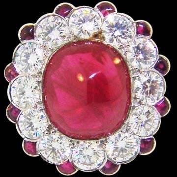 Cabochon Ruby Ring 1