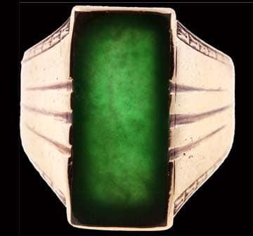 Jade Signet Ring 1