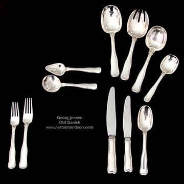 Georg Jensen double date flatware set 1