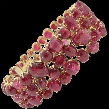 Red Spinel Bracelet 1