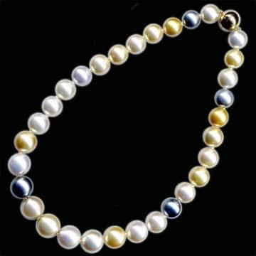 Multi Colored South Sea Pearls 1