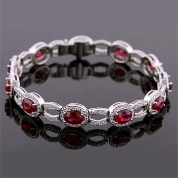 Ruby And Diamond Bracelet 1