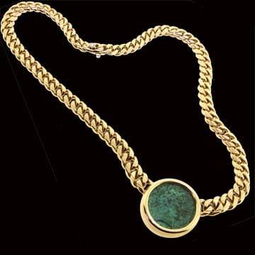 Classic Bvlgari, Bvlgari Roman Coin Necklace 1