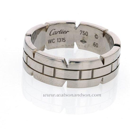 Cartier Tank Française Wedding Band 1