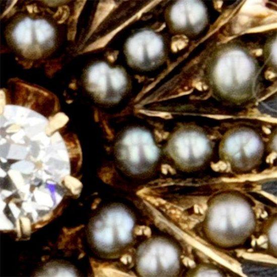 Victorian Star Brooch 2