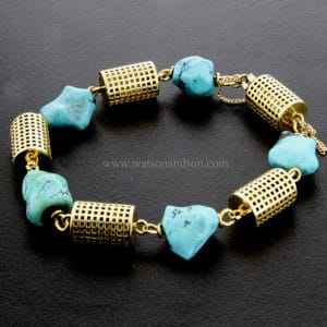 tumble-polished-trurqoise-bracelet-3329m