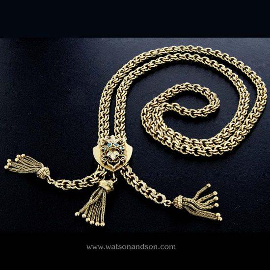 Victorian Revival Slider Necklace 1