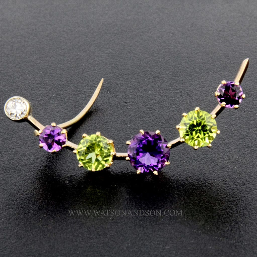 Suffragette Inspired Jewelry 1