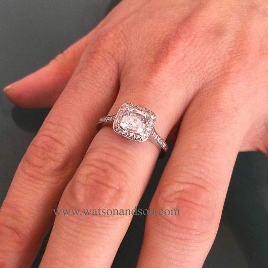 Tiffany Platinum Legacy Ring 5