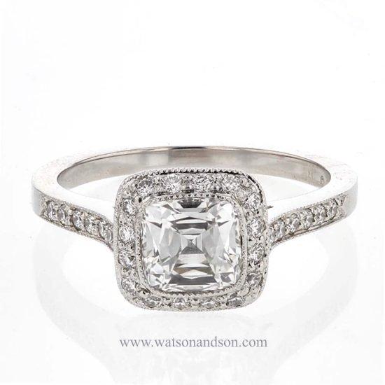 Tiffany Platinum Legacy Ring 1
