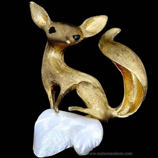 Golden Foxy Lady 1