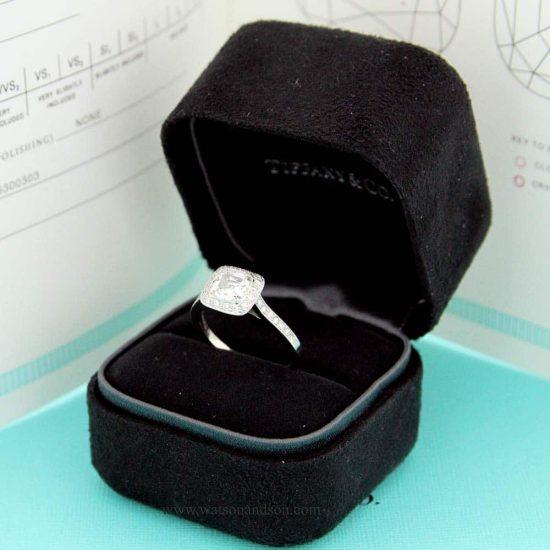Tiffany Platinum Legacy Ring 4
