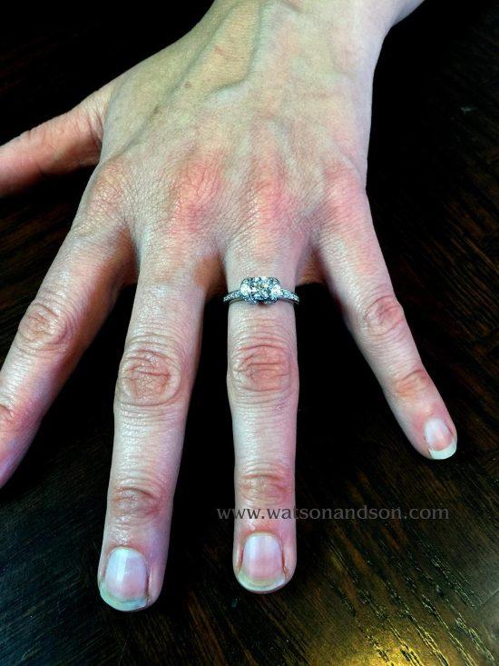 Tiffany &Amp; Co. Ribbon Ring 5