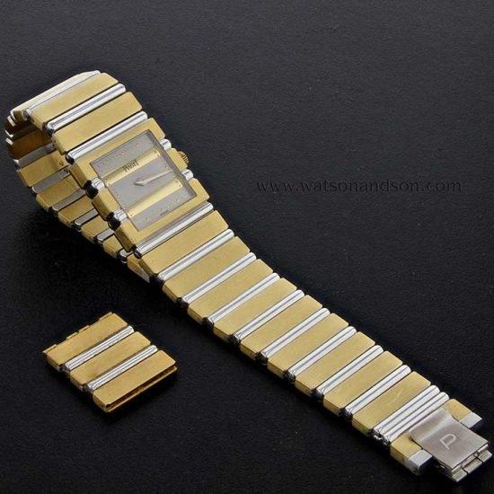 18K Ladies Piaget Polo Watch Bracelet 1
