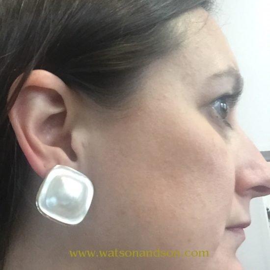 Mabe Pearl Earrings 4