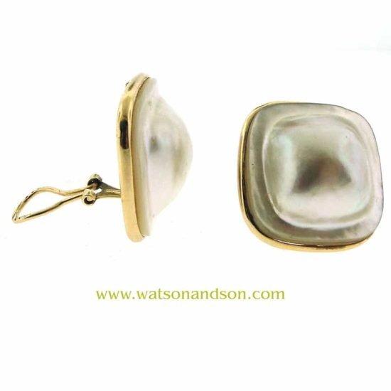 Mabe Pearl Earrings 2