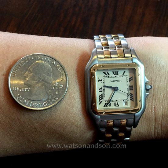Ladies Mid Size Cartier Panther 5