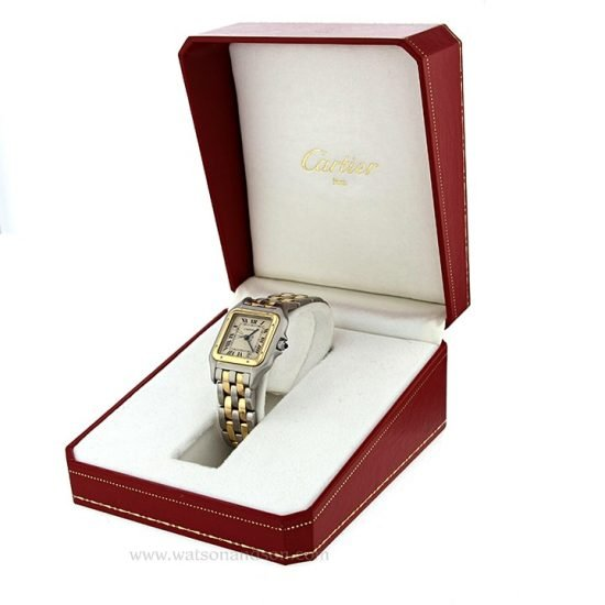 Ladies Mid Size Cartier Panther 4
