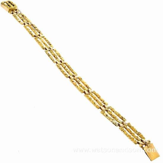 Brutalist Alaskan Nugget Bracelet 2