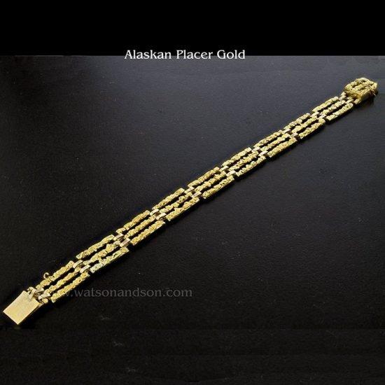 Brutalist Alaskan Nugget Bracelet 1