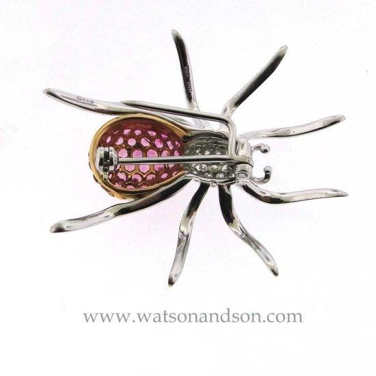 18K Spider Brooch 4