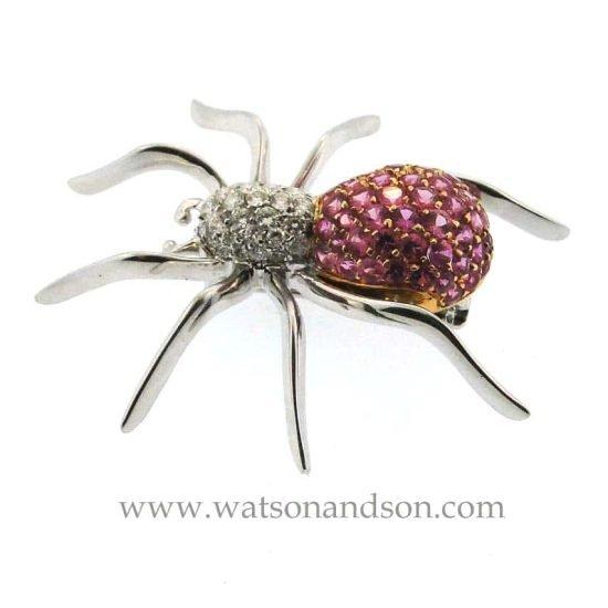 18K Spider Brooch 3