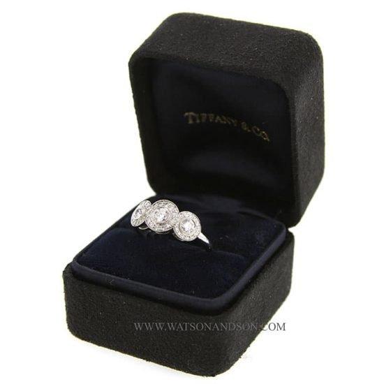 Tiffany Platinum Circlet Ring 3