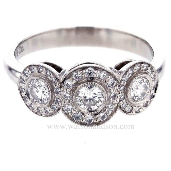 Tiffany Platinum Circlet Ring 2