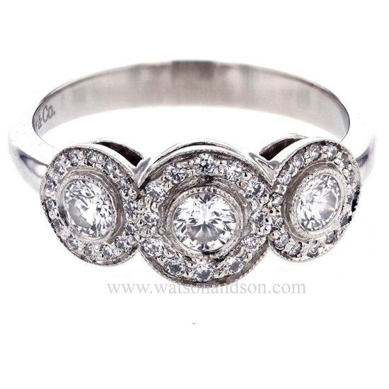 Tiffany Platinum Circlet Ring 1