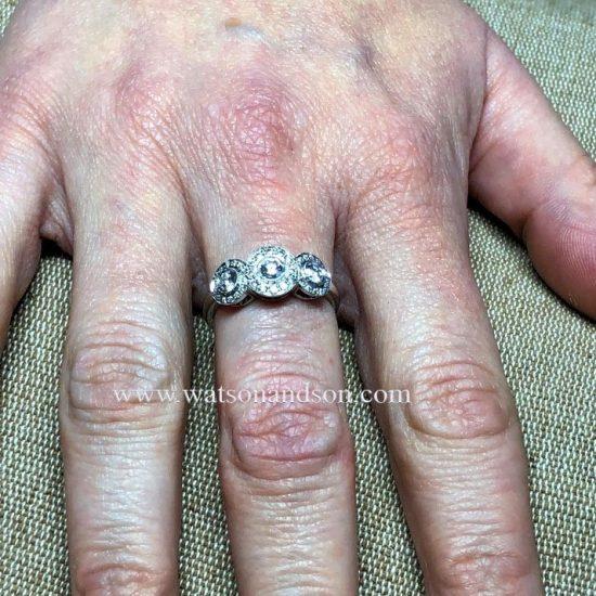 Tiffany Platinum Circlet Ring 6