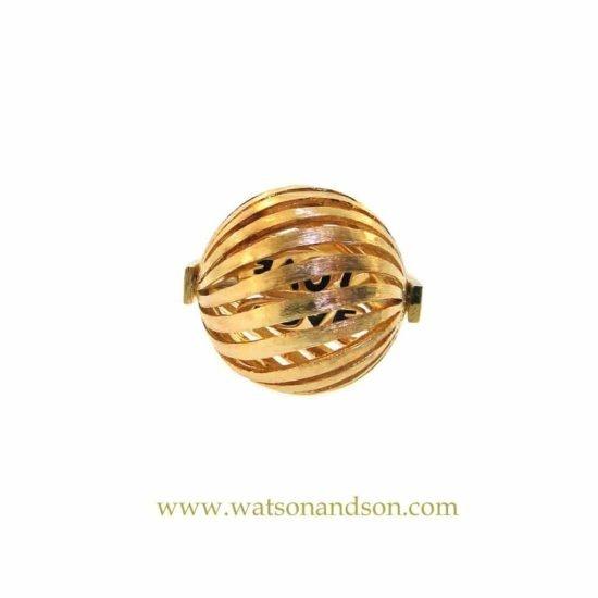 18K Love Spinner Ring 1