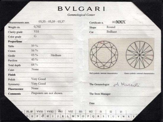 Bulgari Yellow Gold Diamond Solitaire 6