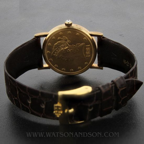 Midsize Corum Us 10 Dollar Gold Coin Watch 2