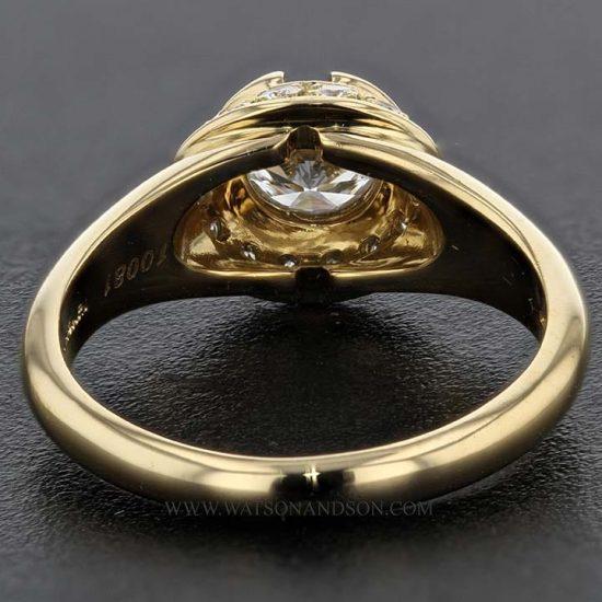 Bulgari Yellow Gold Diamond Solitaire 5
